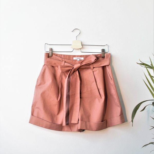 Heavy Cotton Pleated Shorts Yulia Malisaki SS2018