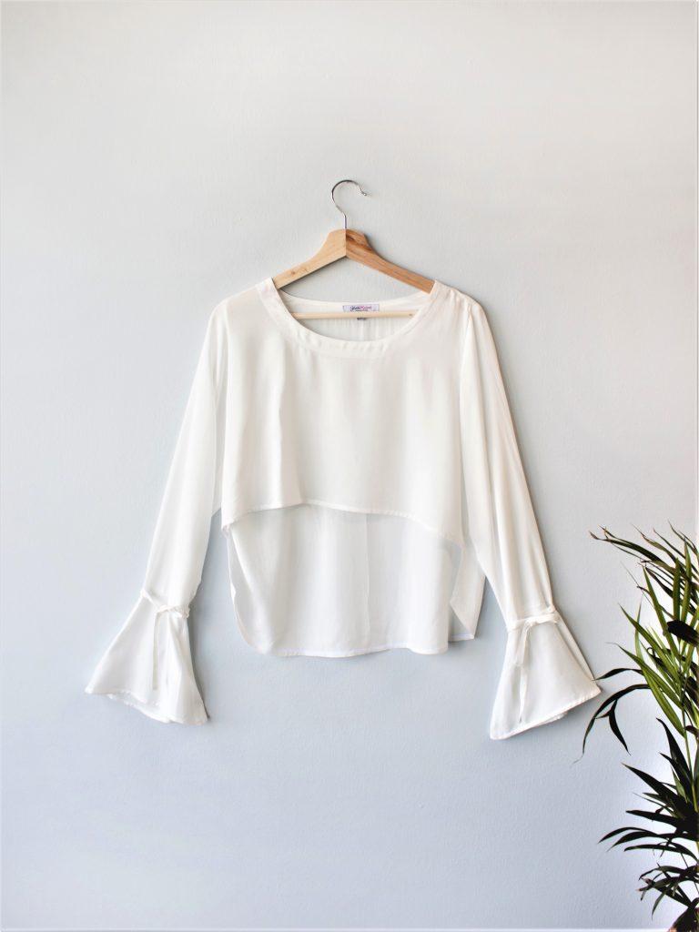 Bell Sleeve Blouse Yulia Malisaki SS2018 (1)