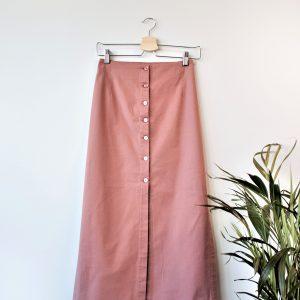 Button Up Skirt Yulia Malisaki SS2018 (4)