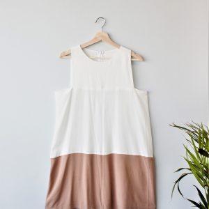Color Block Dress Yulia Malisaki SS2018