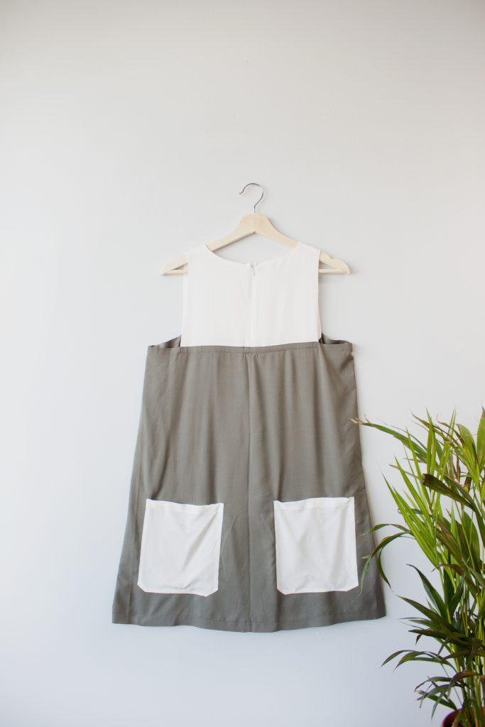 Color Block Dress SS_2018 (3)