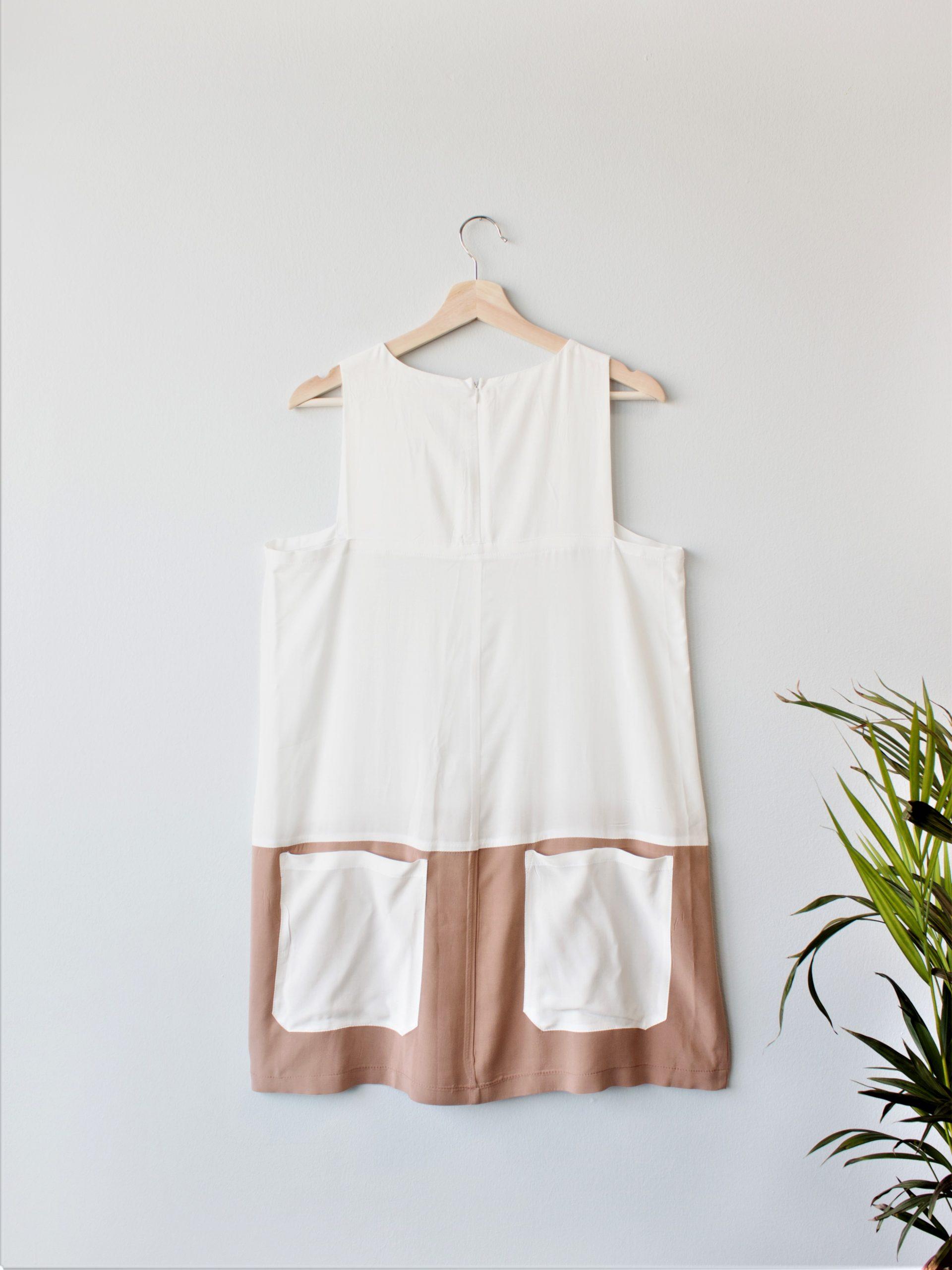 Color Block Dress Yulia Malisaki SS2018 (3)
