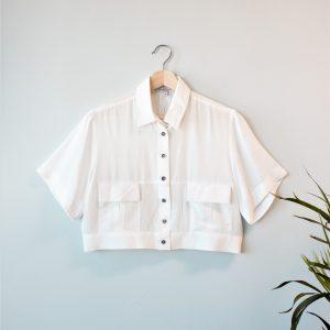Cropped Cargo Shirt Yulia Malisaki SS18