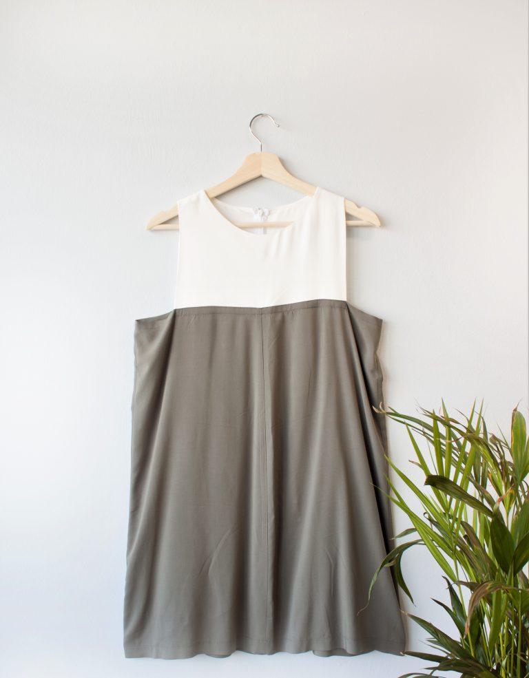 Color Block Dress Yulia Malisaki SS_2018