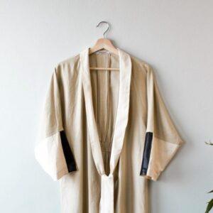 Linen Kimono Cover Up Yulia Malisaki SS18