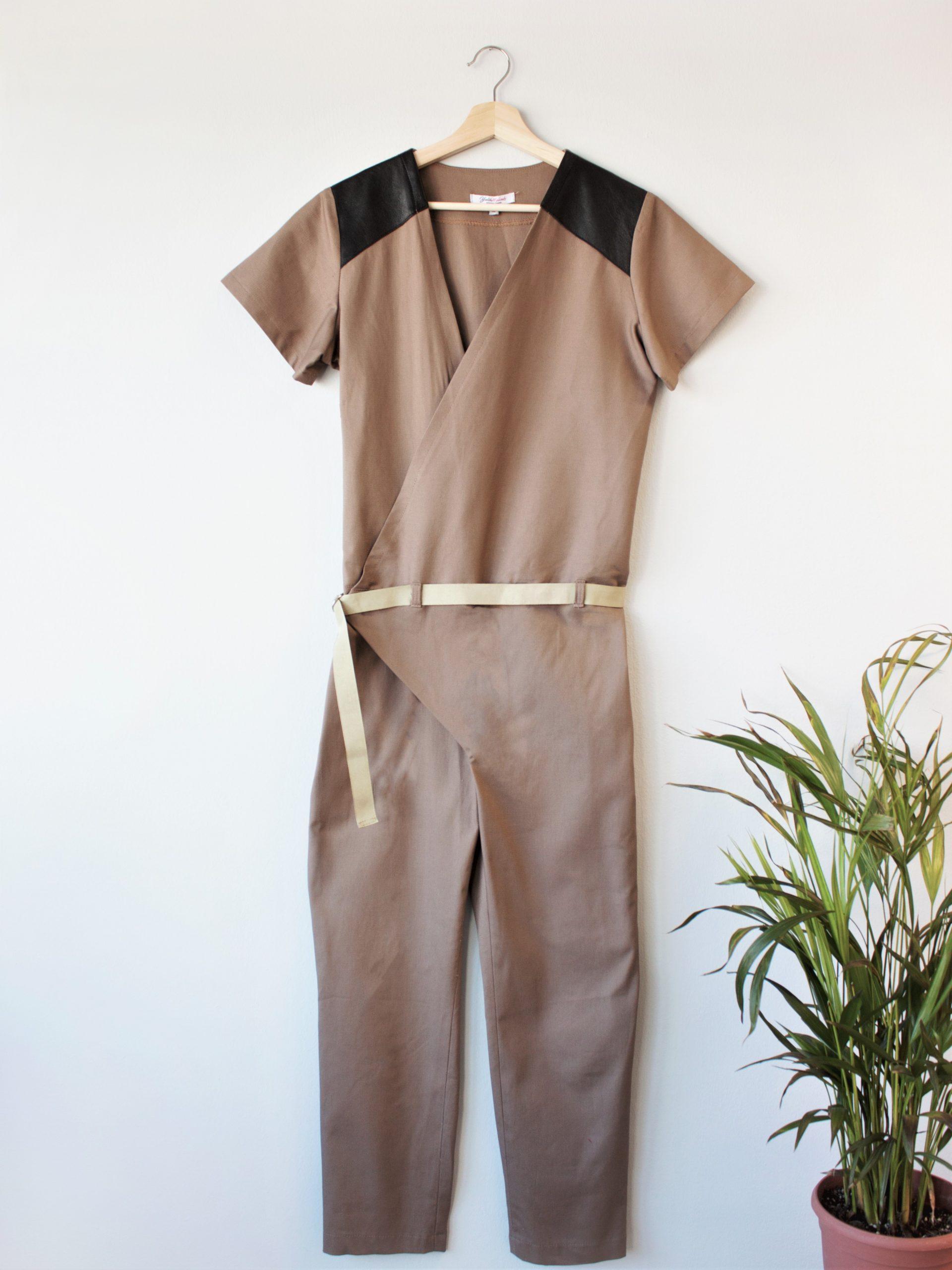Wrap Over Jumpsuit Yulia Malisaki SS18